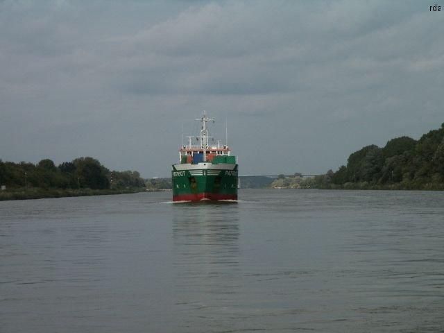 Schiff aus Kiel